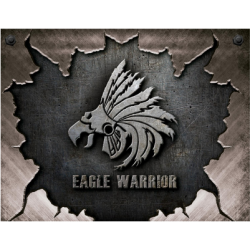 Logo Mouse Gamer Eagle Warrior